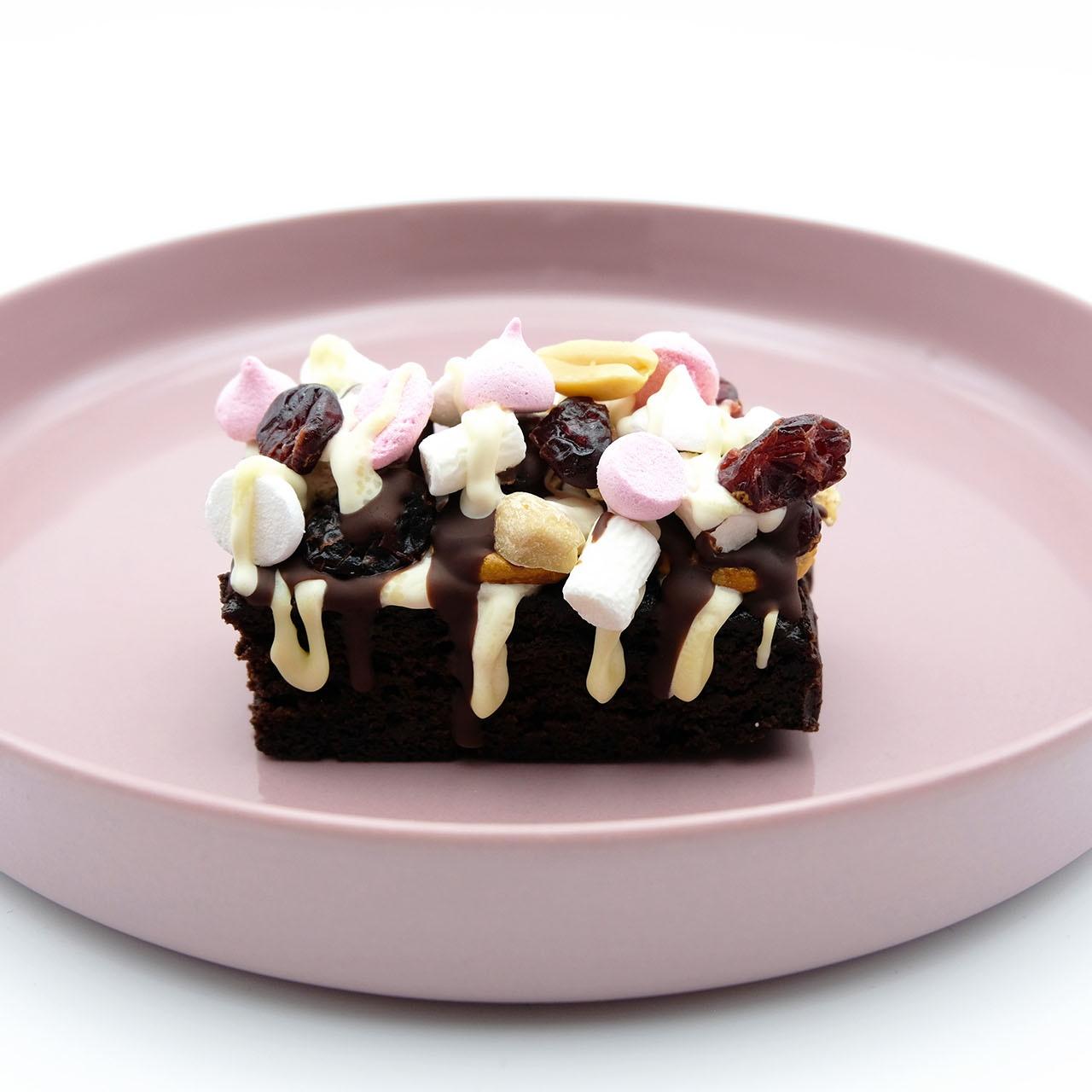 Rezept Rocky Road Brownie Popdish Foodblog Gerichte, die knallen