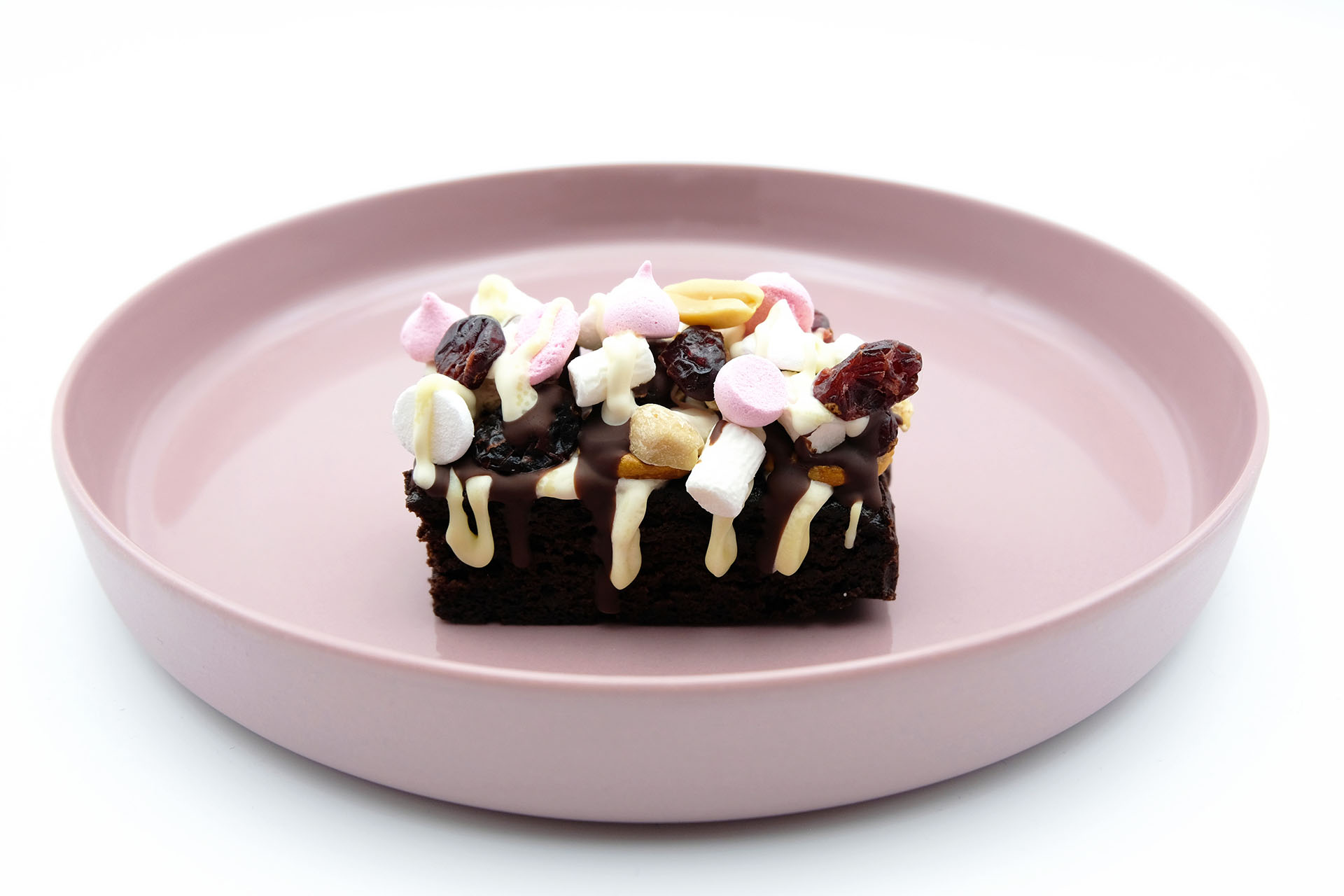 Rezept Rocky Road Brownies Popdish Foodblog, Gerichte, die knallen,