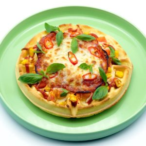Rezept Waffel Pizza Popfood