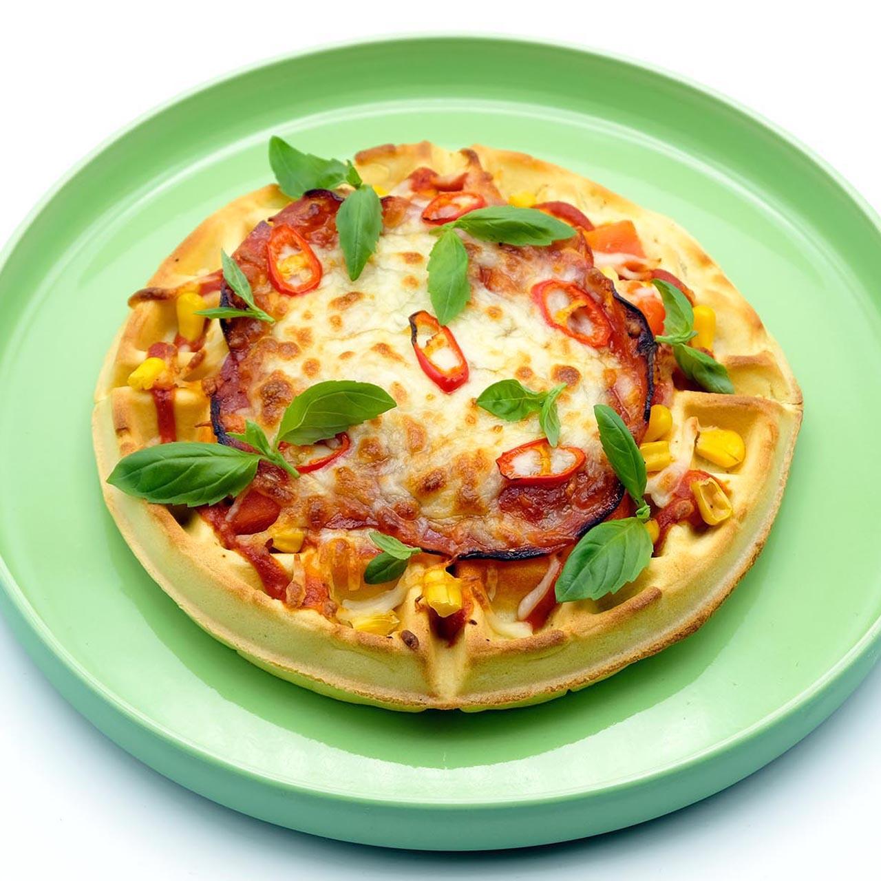 Rezept Waffel Pizza Popdish Foodblog, Gerichte, die knallen,