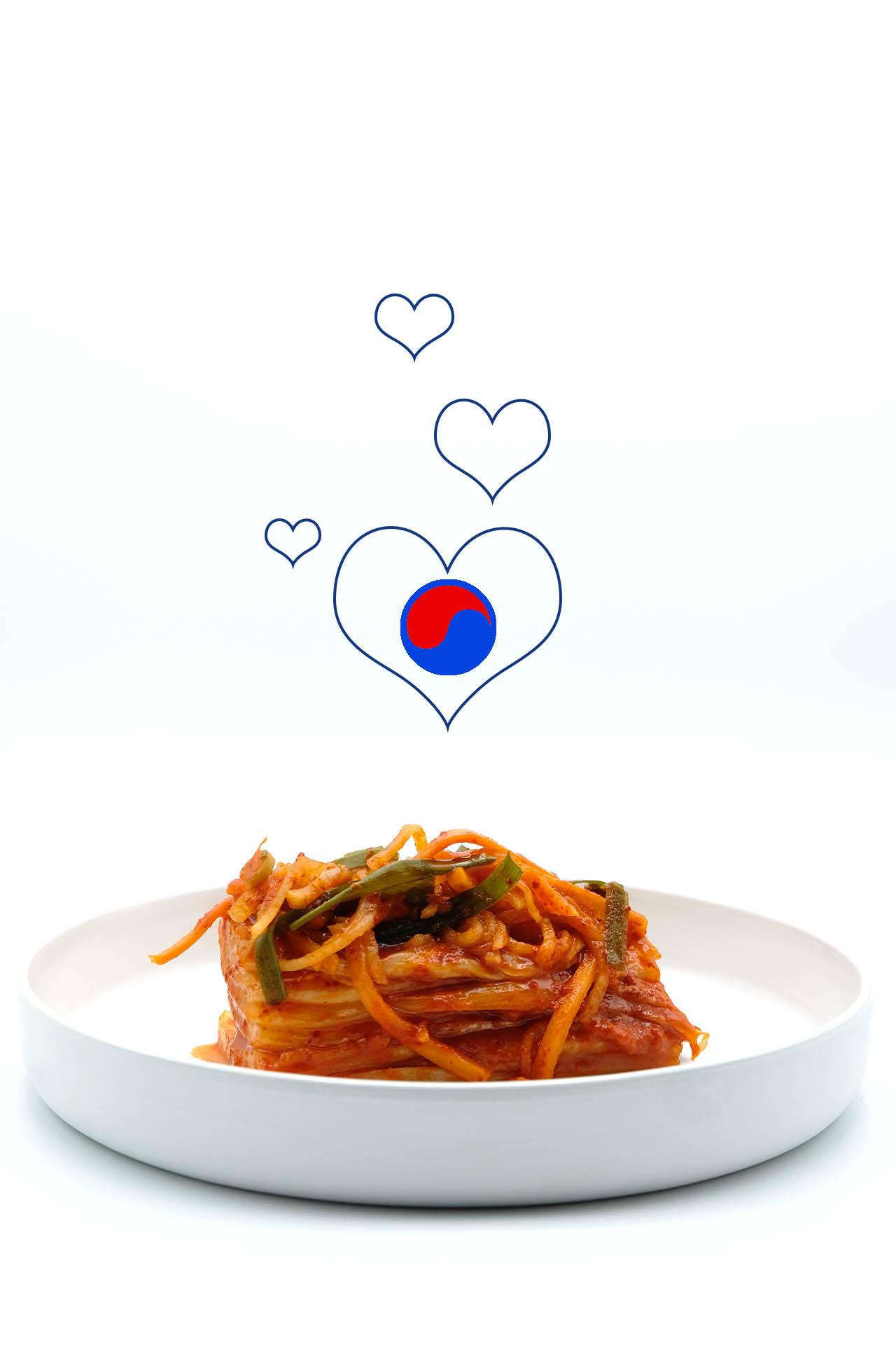 Rezept Kimchi aus Chinakohl - Baechu Kimchi Popfood