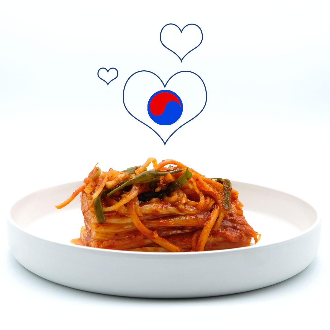 Beitragsbild zum Rezept Kimchi aus Chinakohl - Baechu Kimchi Popdish Foodblog, Gerichte, die knallen,