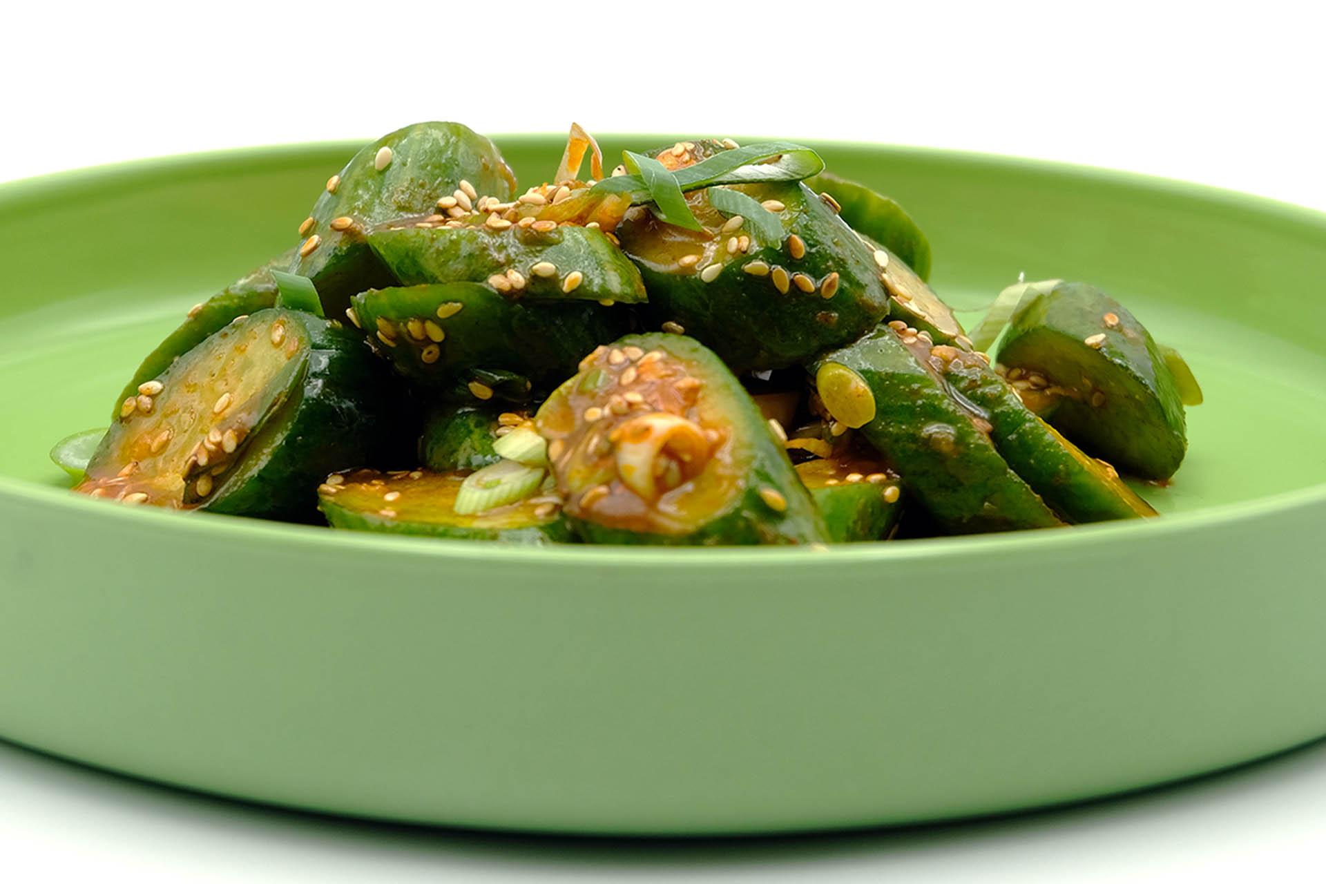 Rezept koreanischer Gurkensalat Popdish Foodblog, Gerichte, die knallen,