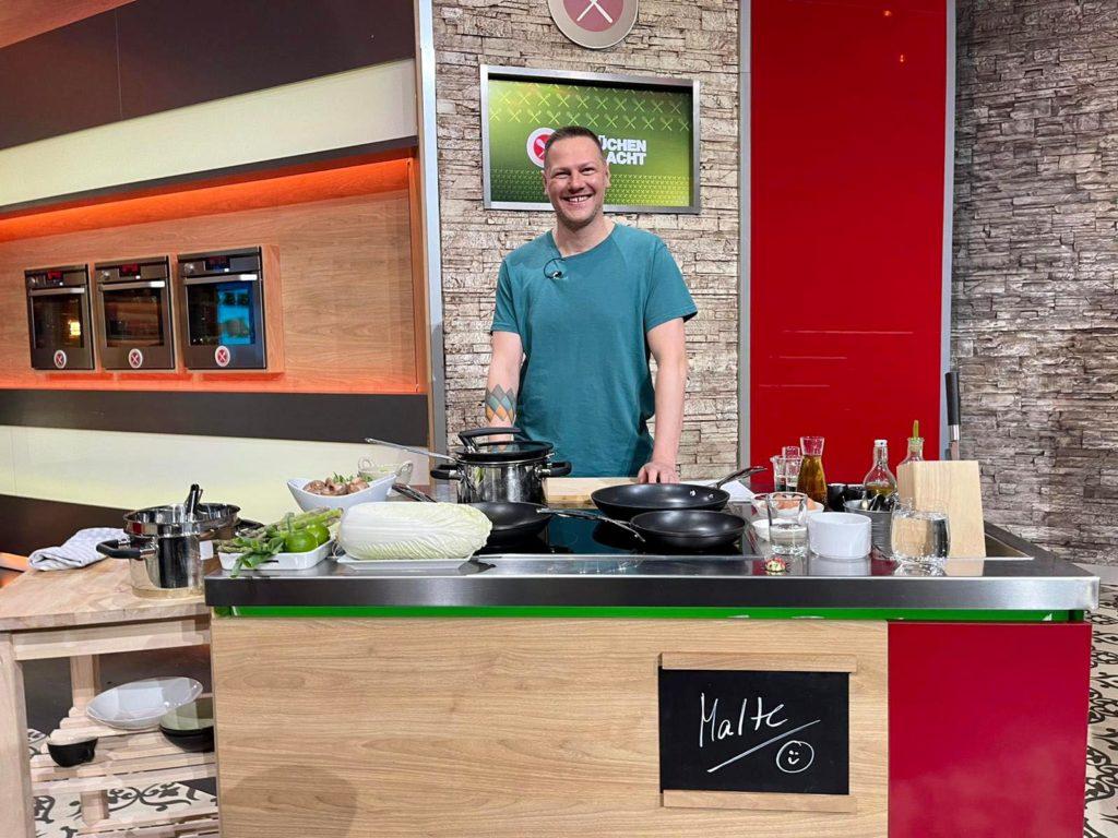 Malte bei der Küchenschlacht Popdish foodblog, Gerichte, die knallen